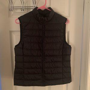 Uniqlo Packable down vest.